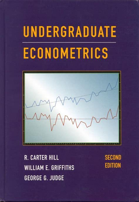 Principles Of Econometrics Solutions Manual
