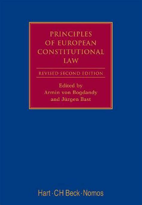 Principles Of European Constitutional Law