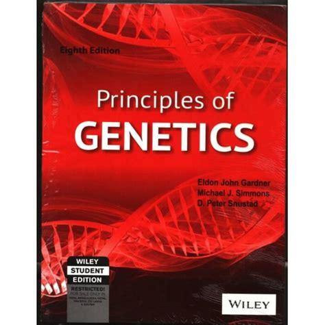 Principles Of Genetics 8th Edition