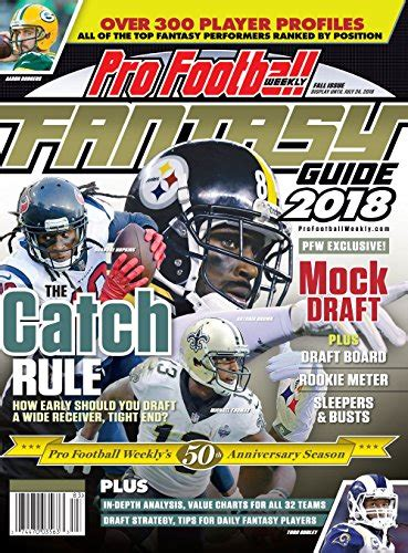 Pro Football Weekly Draft Guide 2019 English Edition