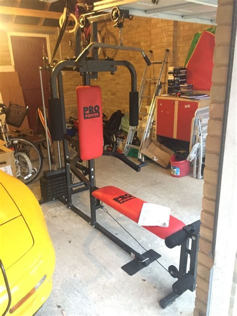 Pro Power Home Gym Instruction Manual