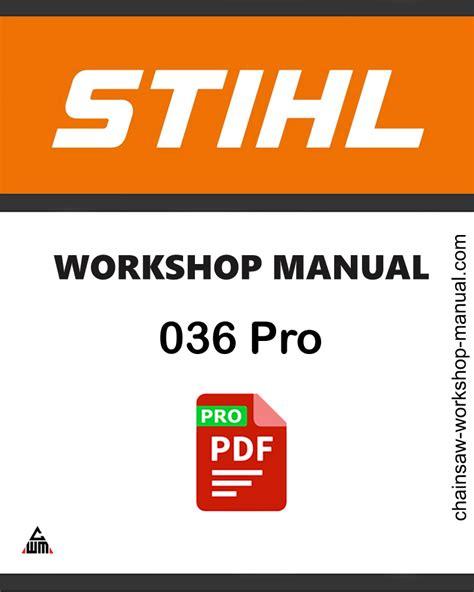 Pro Workshop Manual