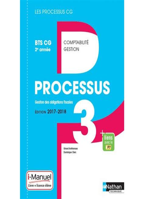 Processus 3 Gestion Des Obligations Fiscales Bts Cg 2e Annee