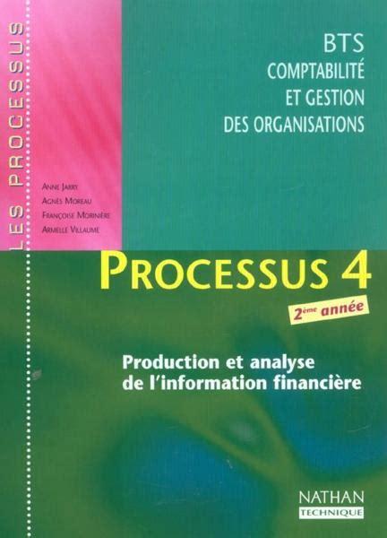 Processus 4 Production Et Analyse De L Information Financiere Bts Cgo 2e Anee