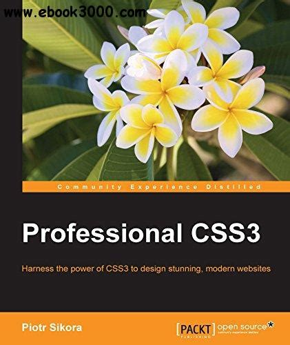 Professional Css3