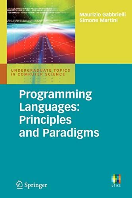 Programming Languages Principles And Paradigms Undergraduate Topics In Computer Science