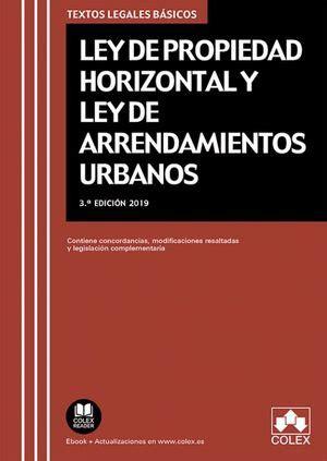 Propiedad Horizontal Y Arrendamientos Urbanos 11w Edicion 2019 Textos Legales