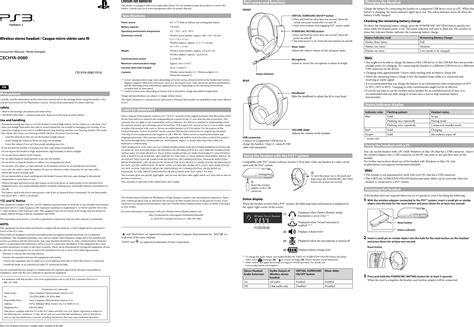 Ps3 Bluetooth Manual