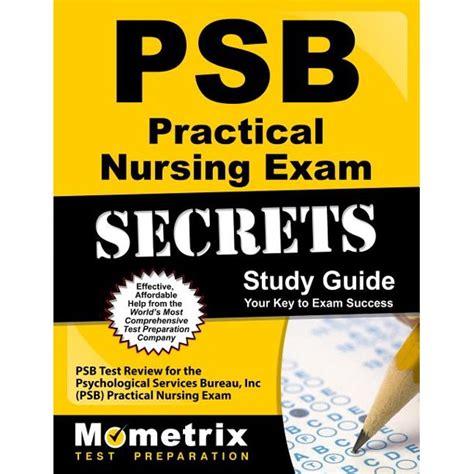 Psychological Service Bureau Psb Study Guide