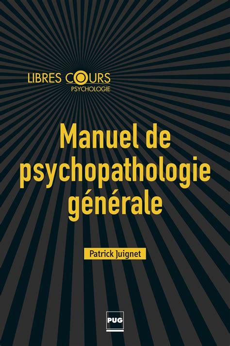 Psychopathologie Generale