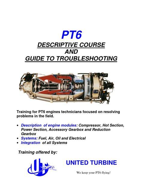 Pt6 Turbine Aircraft Manual