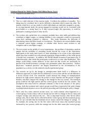 Public Finance Rosen 9th Edition Solution Manual