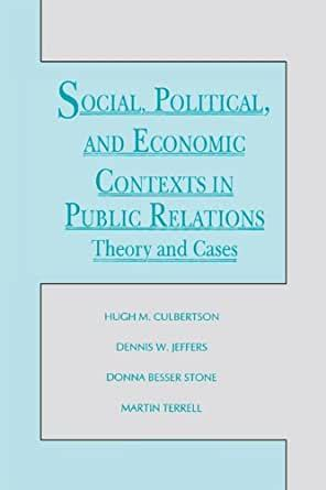 Public Relations Theory Communications Series English Edition