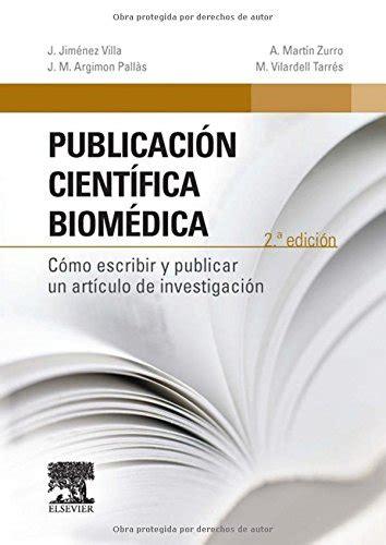 Publicacion Cientifica Biomedica 2a Edicion