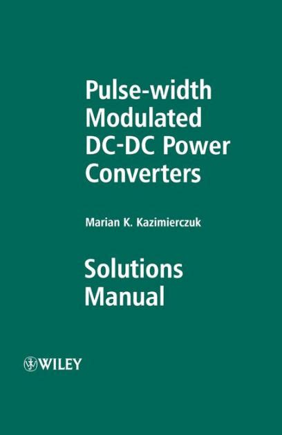 Pulse Width Modulated Manual Solution
