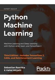 Python Machine Learning Machine Learning And Deep Learning With Python Scikit Learn And Tensorflow Step By Step Tutorial For Beginners Updated English Edition