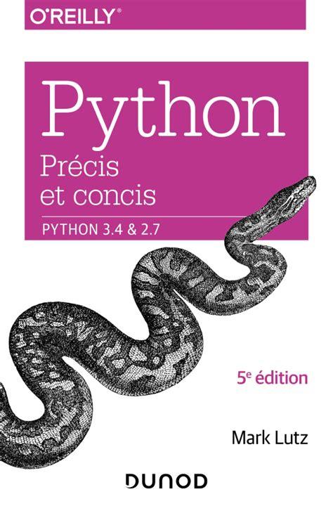 Python Precis Et Concis Python 3 4 Et 2 7