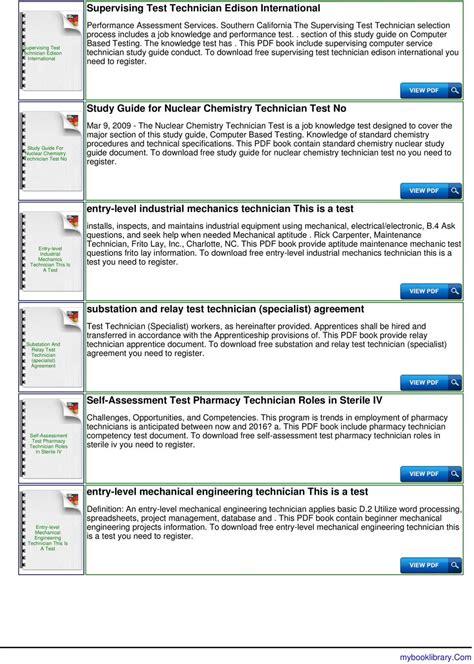 Qualifying Database Clerk Performance Test Guide