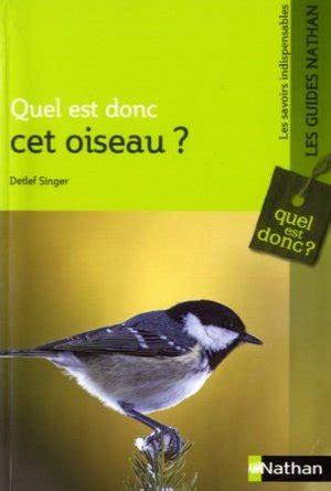 Quel Est Donc Cet Oiseau