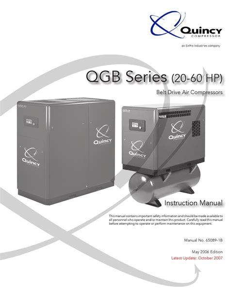 Quincy Qgb 50 Manual