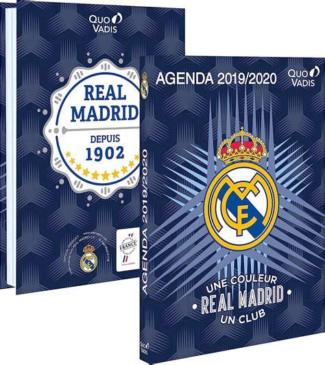 Quo Vadis Agenda Scolaire Real Madrid Septembre 2017 A Aout 2018 12x17 Cm