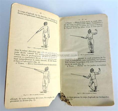 Règlement d'escrime (fleuret - epée - sabre)