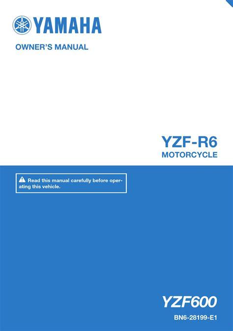 R6 Owner Manual 2017