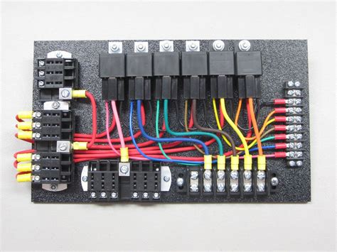 Race Car Wiring Relay Board