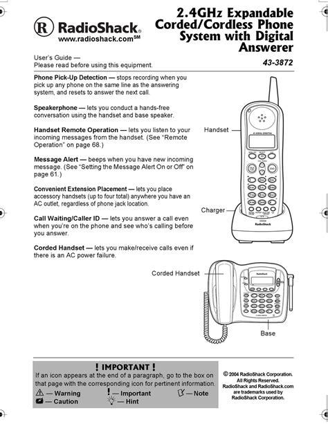 Radio Shack 43 165 Manual