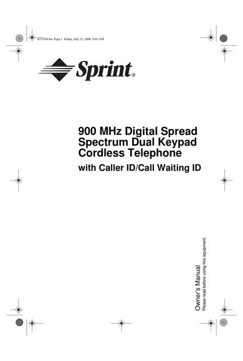 Radio Shack 900 Mhz Cordless Phone Manual