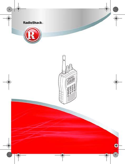 Radio Shack Scanner Pro 83 Manual