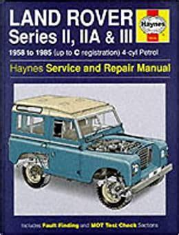 Range Rover Service And Repair Manual Haynes Service And Repair Manuals
