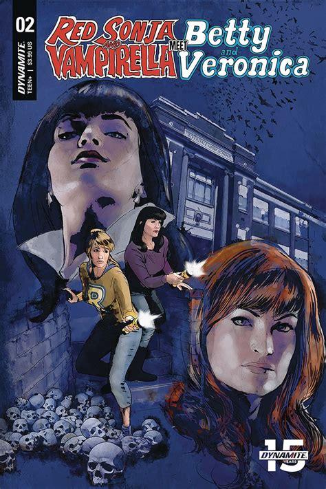 2020 Dynamite Vault 35 Red Sonja Vampirella Betty Veronica #9 Cover B NM