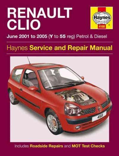 Renault Clio 2001 Workshop Manual