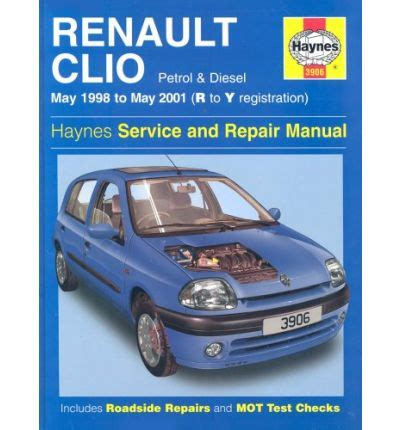 Renault Clio Service Manual 01 To 05