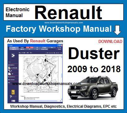 Renault Dacia Duster Workshop Service Repair Manual 2009 2011 1