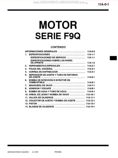 Renault F9q Manual
