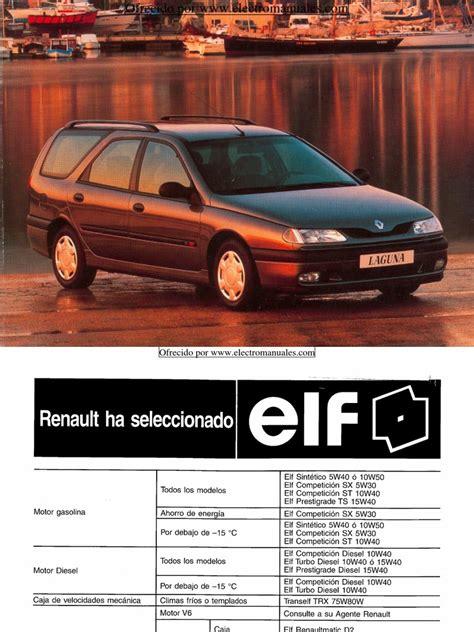 Renault Laguna 1997 Manual
