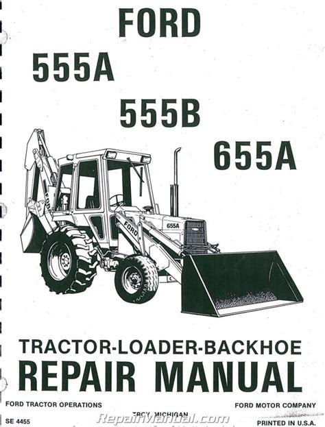 Repair Manual 555 Ford 89 Diesel
