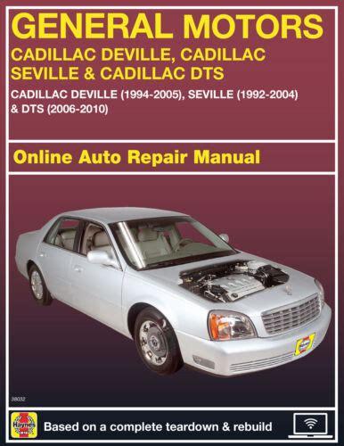 Repair Manual Cadillac 1997