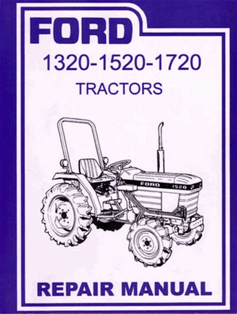 Repair Manual For 1520 Ford Tractor