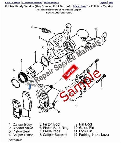 Repair Manual For 2003 Mercury Grand Marquis
