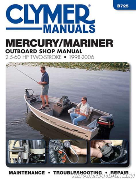 Repair Manual For 25hp Mariner Outboard Motor