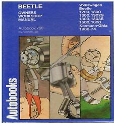 Repair Manual For 74 Vw Beetle 1303