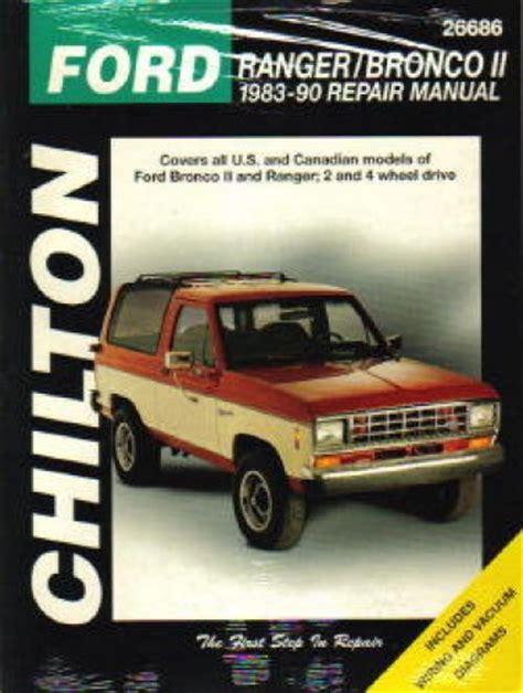 Repair Manual For A 1990 Ford Ranger