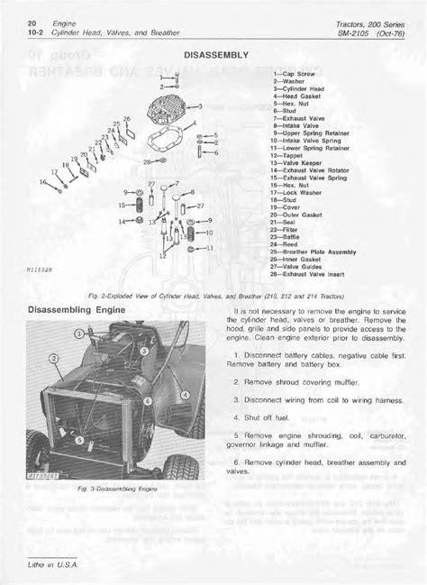 Repair Manual For John Deere 214