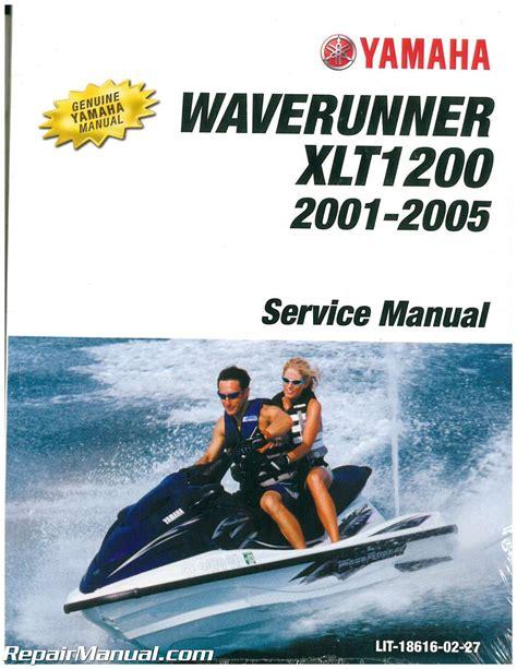 Repair Manual Waverunners