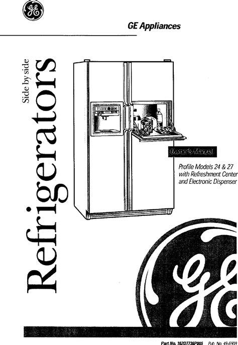 Repair Manuals For Ge Appliances