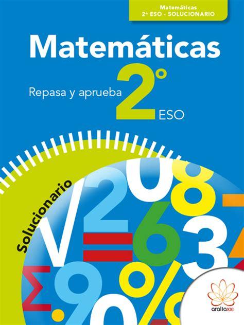 Repasa Y Aprueba Matematicas 2o Eso Solucionario