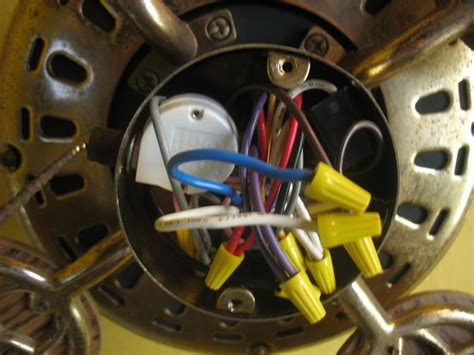 Replacement Ceiling Fan Wiring
